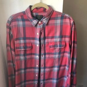 JCrew Flannel - M